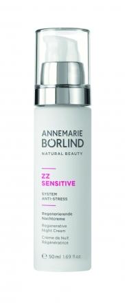 Annemarie Börlind - ZZ Sensitive anti-stress - Regeneračný nočný krém anti-aging pre citlivú pleť