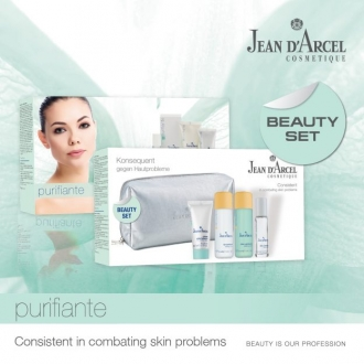 Jean D'Arcel - Purifiante - Beauty set purifiante - cestovný set pre problematickú pleť