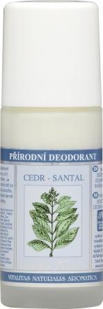 Nobilis Tilia - Prírodný deodorant Céder santal - deodorant bez hliníka