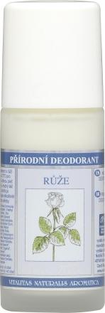 Nobilis Tilia - Prírodný deodorant Ruža - deodorant bez hliníka s olejom z ruže