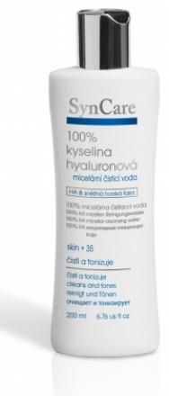 SynCare - Micelárna čistiaca voda 100% kyselina hyalurónová