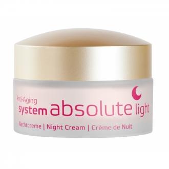 Annemarie Börlind - Anti-aging system absolute - Nočný krém LIGHT pre zrelú pleť 40+