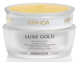 Ainhoa LUXE Gold Day & Night Cream – denný a nočný krém s kaviárom pre zrelú pleť