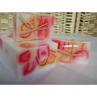 Prírodné glycerínové mydlo Vanilka