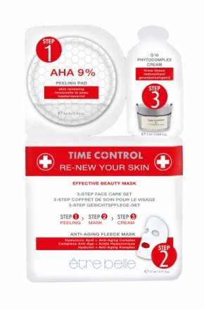 Être Belle - Time Control renew your skin fleece mask - obnovujúca anti age flísová maska