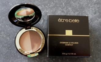 Être Belle - Eyebrow and eyeliner compact 03- linky na úpravu obočia či vytvorenie očných liniek odtieň 03