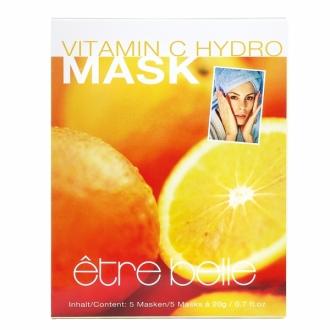 Être Belle - Vitamin C fleece mask 5 ks - Flísové  masky s vitamínom C set 5 ks