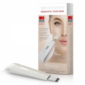 Être Belle - Time Control - Ultrasonic Skin Scrubber - Ultrazvuková špachtľa k hĺbkovému čisteniu pleti a aplikácii sér