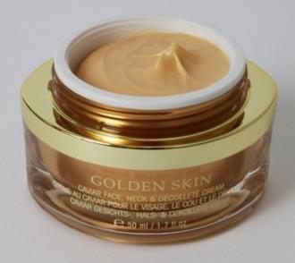 Être Belle - Golden Skin Caviar Face, Neck & Décolleté - Kaviárový krém na tvár, krk a dekolt