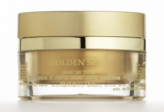 Être Belle - Golden Skin - Caviar Day Cream - Denný krém so zlatom a kaviárom