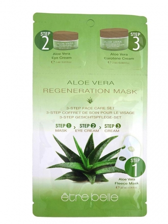 Être Belle - Aloe vera regeneration fleece mask - regeneračná fleecová maska s aloe vera