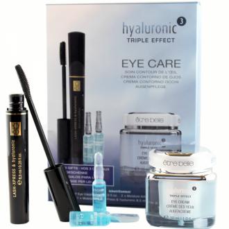 Être Belle - Hyaluronic - Eye Care Set - 1x špirála, 1x očný krém, 2x hydratačné ampulky