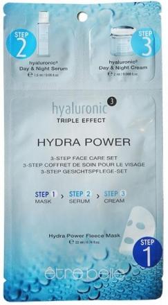 Être Belle - Hyaluronic - Hydra power fleece mask - hydratačná fleecová maska hyaluronic