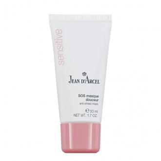 Jean D'Arcel - Sensitive - SOS masque douceur - upokojujúca krémová maska na citlivú pleť