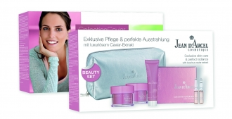 Jean D'Arcel - Collection Caviar - Beauty set caviar - cestovný set kolekcie caviar