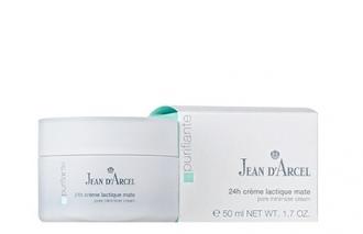 Jean D'Arcel - Purifiante - Crème lactique mat - 24h matujúci krém na rozšírené póry