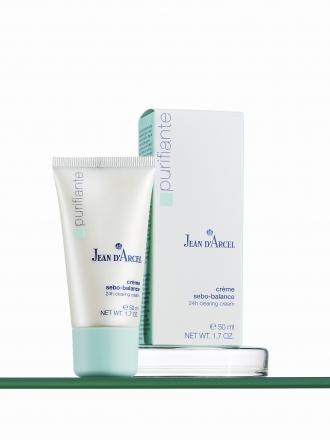 Jean D'Arcel - Purifiante - Crème Sebo Balance - 24h hydratačný krém na mastnú pokožku
