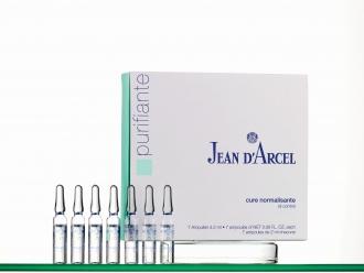 Jean D'Arcel - Purifiante - Cure normalisante - antibakteriálne ampulky na problematickú pleť