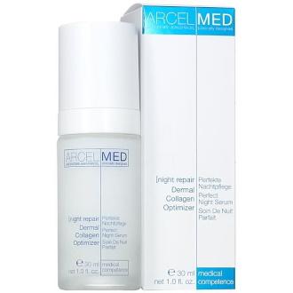 Jean D´Arcel - Arcelmed - Night Repair Dermal Collagen  - Hydratané a upokojujúce nočné kolagénové sérum