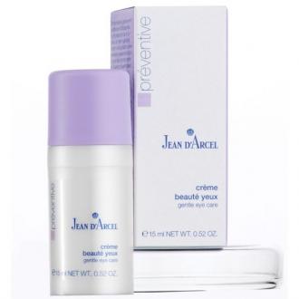 Jean D'Arcel - Préventive - Créme beauté yeux - ľahký  očný krém s aloe vera