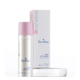 Jean D'Arcel - Sensitive - Fluide Anti-Rougeur - Upokojujúce sérum pre začervenalú  pleť