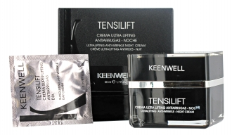 Keenwell TENSILIFT Ultralifting Anti-Wrinkle Night Cream - liftingový nočný krém proti vráskam