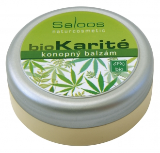 Saloos bio karité konopný balzam