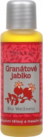 Saloos - Wellness olej Granátové jablko - telový a pleťový masážny olej