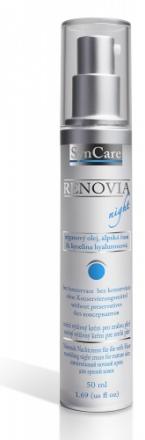 SynCare - Renovia nočný výživný krém pre zrelú pleť 55+