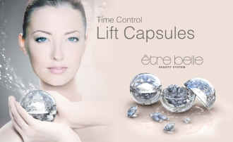 Être Belle - Time Control - Anti aging lift capsules - Liftingové kapsule s argilerínom
